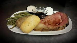 prime rib dinner Sat special